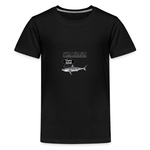 Sharkasm - Teenage Premium T-Shirt