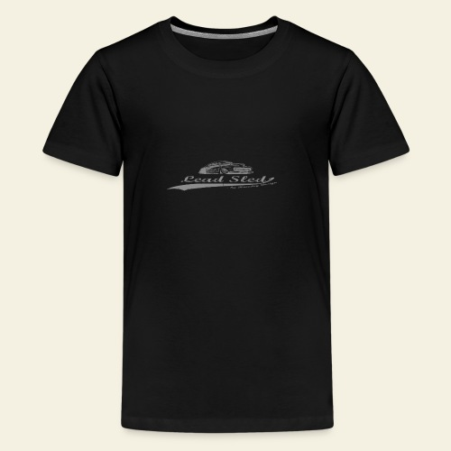 lead sled grey - Teenager premium T-shirt
