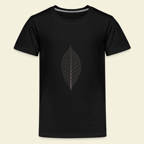 Feuille marron Squelette - T-shirt Premium Ado