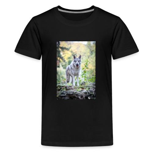La Tanière des Chiens-Loups - T-shirt Premium Ado