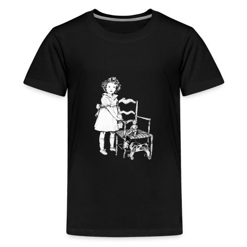 Nelly et sa chaise - T-shirt Premium Ado