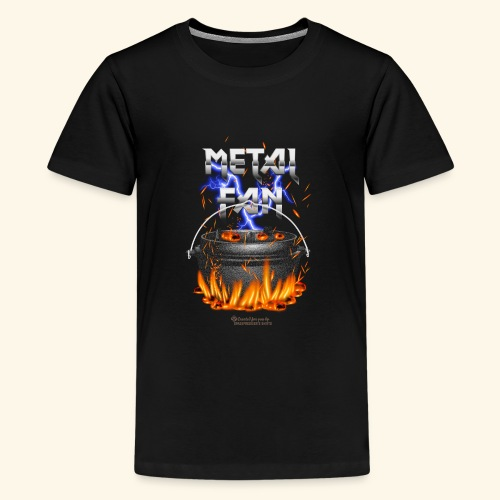 Metal Fan | ▶ Visit Dutch Oven T-Shirts - Teenager Premium T-Shirt