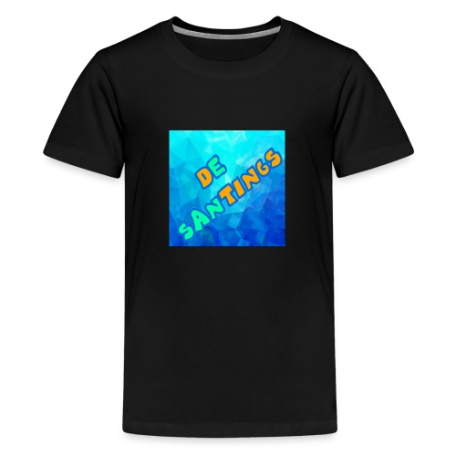 De Santings Logo - Teenager Premium T-shirt
