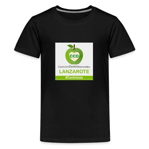 CCD LANZAROTE - Camiseta premium adolescente