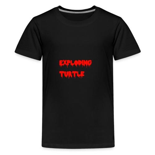 blood - Premium T-skjorte for tenåringer