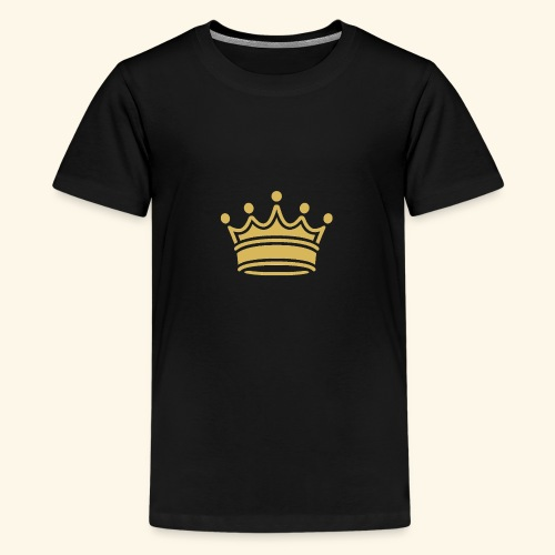 crown - Teenage Premium T-Shirt