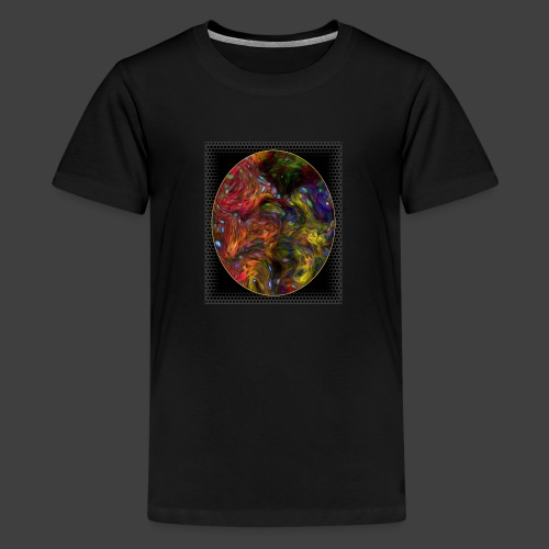 Who will arrive first - Teenage Premium T-Shirt