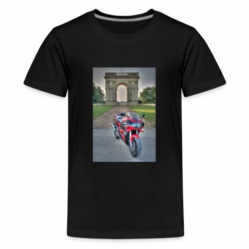 IMG 1000 1 2 tonemapped jpg - Teenage Premium T-Shirt