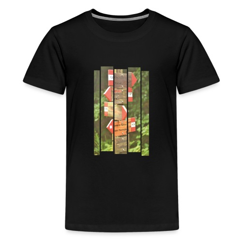 De verwarde hike - Teenager Premium T-shirt
