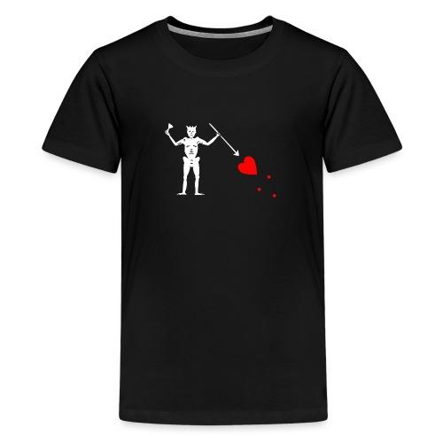 Edward Teach Flag - T-shirt Premium Ado