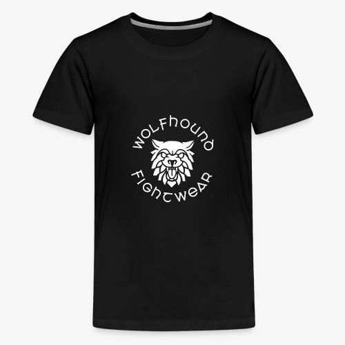logo round w - Teenage Premium T-Shirt