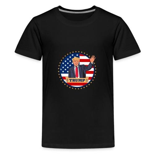 Trump - Teenager Premium T-Shirt