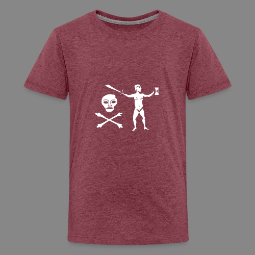 Jean Thomas Dulaien Flag - T-shirt Premium Ado