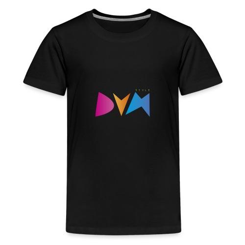 DYM Style - Camiseta premium adolescente