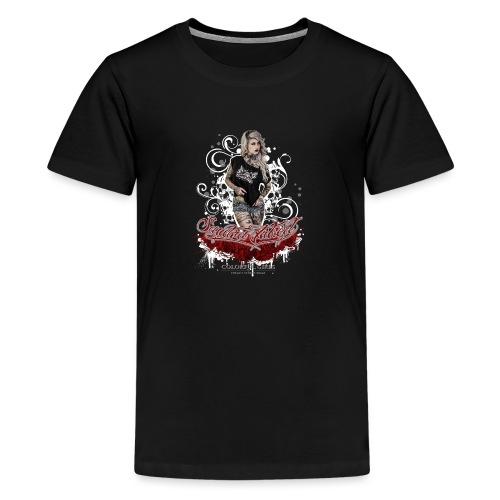 Sandra 1 - Teenager Premium T-Shirt