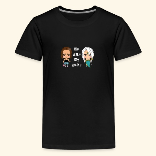 Me and my self - Teenage Premium T-Shirt