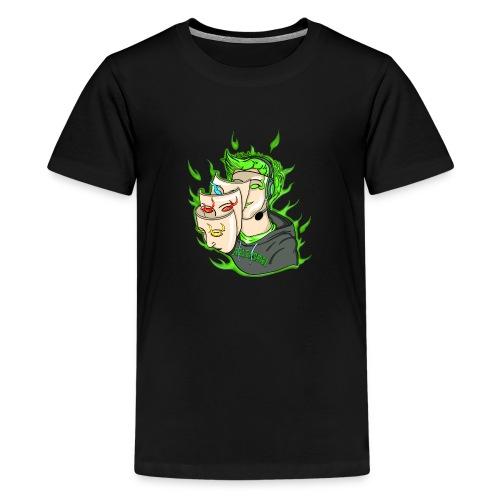 Seelenspiel Grün - Teenager Premium T-Shirt