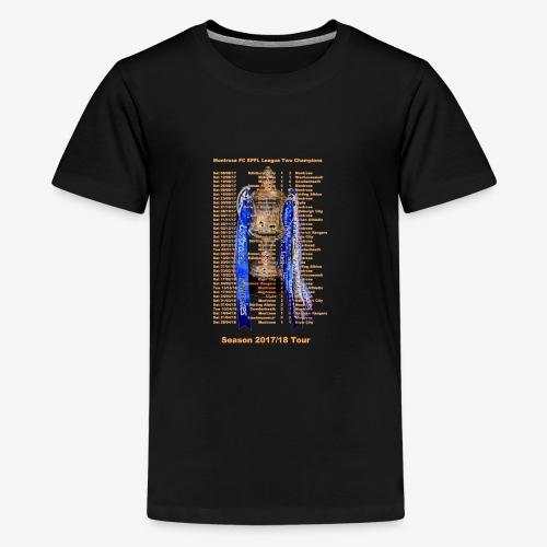 Montrose League Cup Tour - Teenage Premium T-Shirt