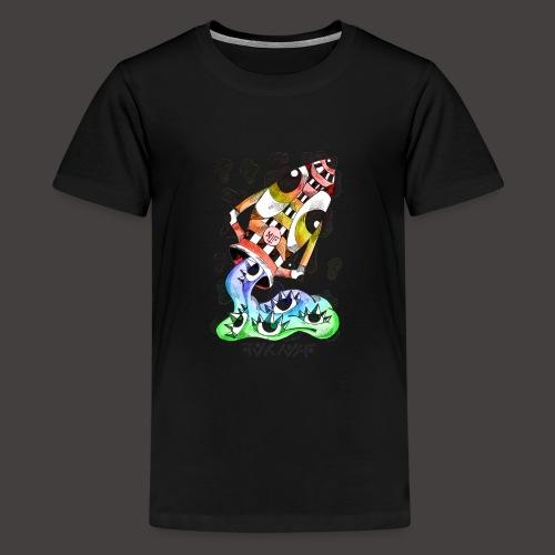 Verseau multi-color - T-shirt Premium Ado