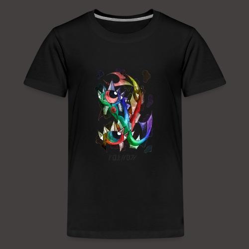 Poisson multi-color - T-shirt Premium Ado