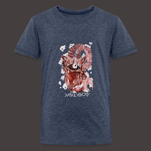 capricorne Négutif - T-shirt Premium Ado