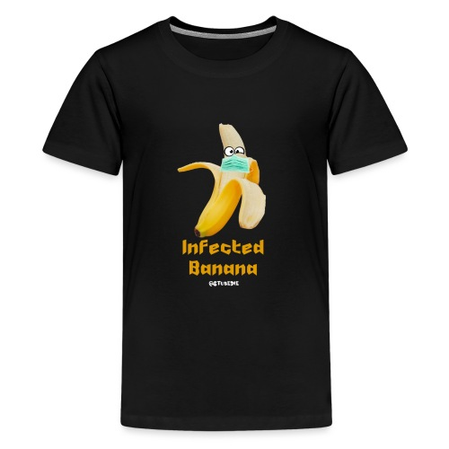 Die Zock Stube - Infected Banana - Teenager Premium T-Shirt