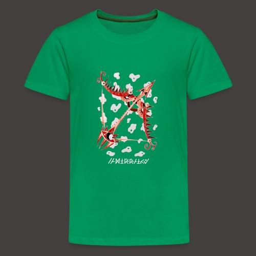 Sagittaire Négutif - T-shirt Premium Ado