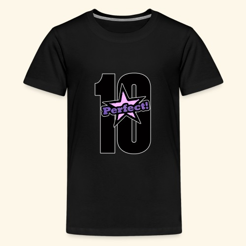perfect 10 - Teenage Premium T-Shirt