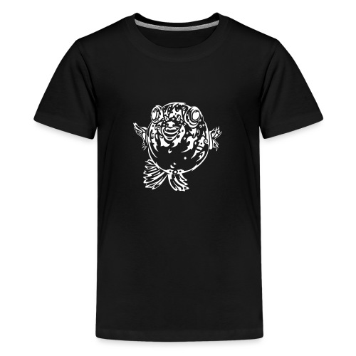 Puff the Blowfish - Teenage Premium T-Shirt