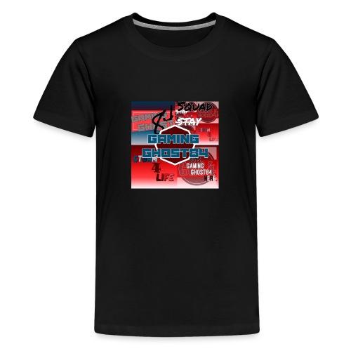 GG84 good old days logo - Teenage Premium T-Shirt
