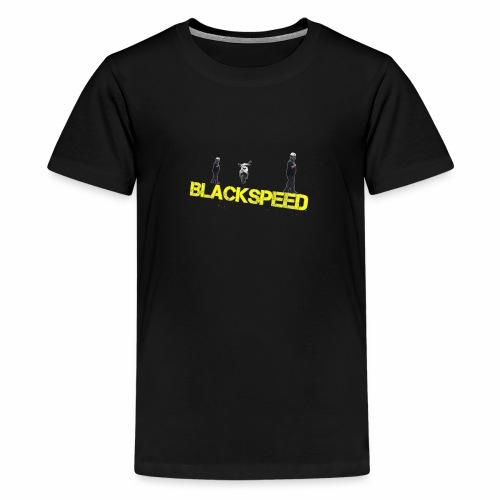 BLACKSPEED Design - Teenager Premium T-Shirt