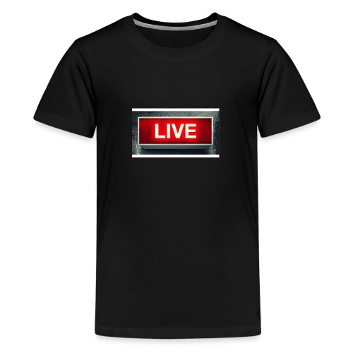 live bord youtube - Teenager Premium T-shirt