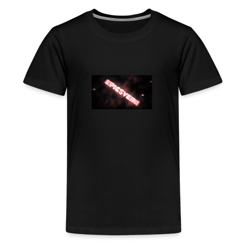 Epicsveini Musemappe - Premium T-skjorte for tenåringer