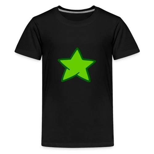 Estrella verde - Camiseta premium adolescente