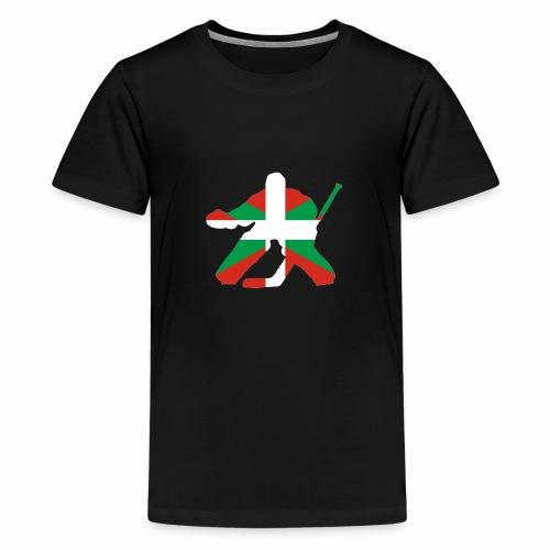 goalie et basque - T-shirt Premium Ado