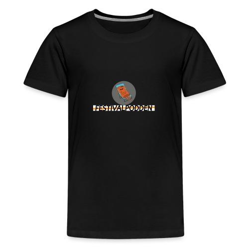 Festivalpodden - Loggorna - Premium-T-shirt tonåring