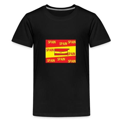 Spain - Camiseta premium adolescente