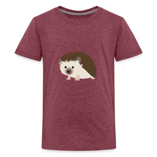Siili - Teinien premium t-paita