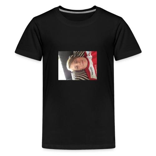 Min første T-skjorte - Premium T-skjorte for tenåringer