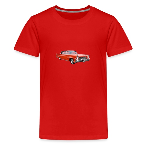 Red Classic Car - Teenager Premium T-shirt