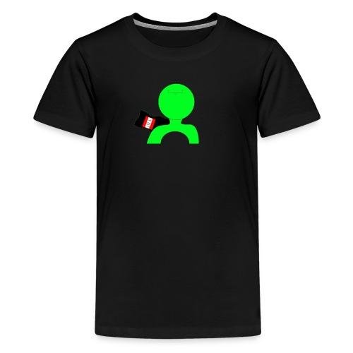 green crpp png - Teenage Premium T-Shirt