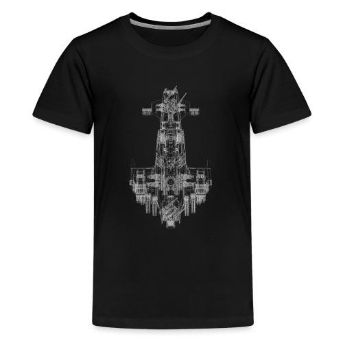 Scimitar Solo Wire 4000pi - Teenager Premium T-Shirt
