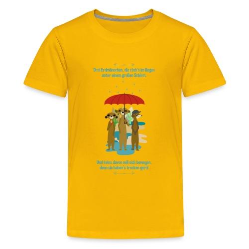 Erdmännchen - Teenager Premium T-Shirt