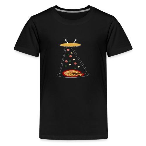 Pizza UFO divertente - Maglietta Premium per ragazzi