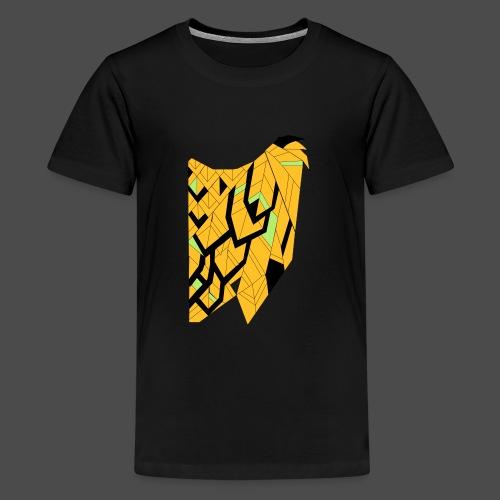 Owl Colour Redraw - Teenage Premium T-Shirt