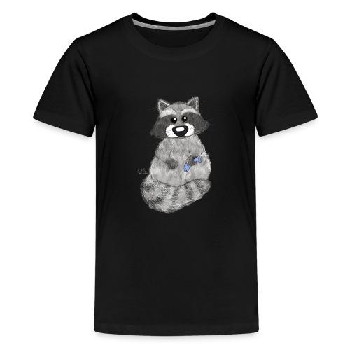 Waschbär - Teenager Premium T-Shirt