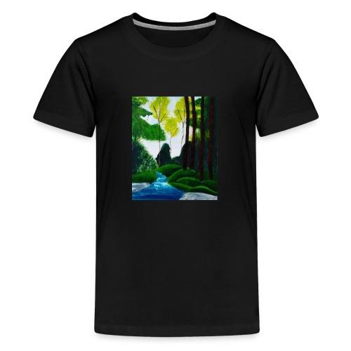 Wilder Bach - Teenager Premium T-Shirt