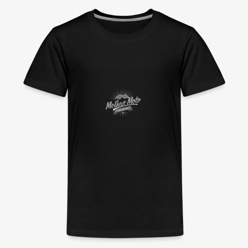 Melhus Moto Vintage Logo - Premium T-skjorte for tenåringer
