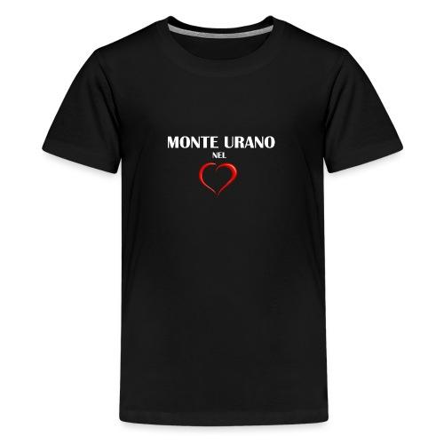 Monte Urano nel Cuore - Maglietta Premium per ragazzi
