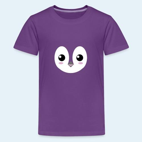 Pingüino bebé (Cachorros) - Camiseta premium adolescente
